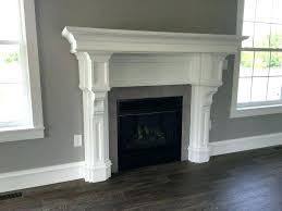 how to build a fireplace surround how to build a fireplace mantel learn step by step