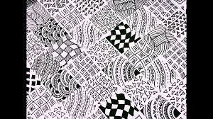 Easy Zentangle Patterns Extraordinary 48 Easy Zentangle Patterns Full Page Zentangle Karthika Loves