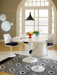 tulip table and chairs. Tulip-chair-scene-black Tulip_chair_black Tulip Table And Chairs