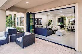 residential aluminum folding glass