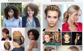 Unprofessional Hair Style Why Googles Images Of Professional Vs Unprofessional Styles Aren 1646 by wearticles.com