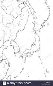 World Map Of Japanese Archipelago Land Of The Rising Sun