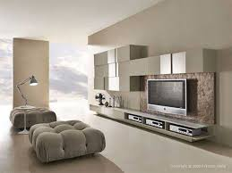 Model Living Room Design Living Room White Flooring Lamp Gray Chairs Television Stunning