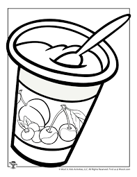 We found for you 15 pictures from the collection of food coloring yogurt! Yogurt Coloring Page Woo Jr Kids Activities