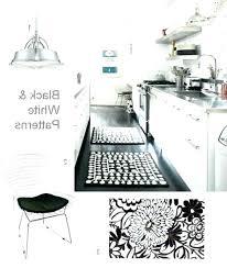 black and white kitchen rug black and white kitchen rugs black and white kitchen rugs photo