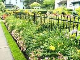 cast iron garden fence iron garden fence border gorgeous fence landscaping ideas beautiful garden fence ideas