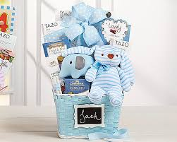 wele new baby gift basket