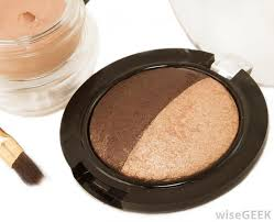 baked blush is a type of cheek rouging makeup that is formed by baking colored liquid on terra cotta tiles which gives it a creamier texture than most