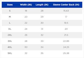 Efficient Gildan Size Chart Unisex 2019
