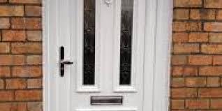 a cat flap in your front door
