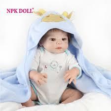 <b>NPKDOLL 55cm</b> Doll Reborn Babies Full Vinyl <b>22 Inch</b> Soft Silicone ...