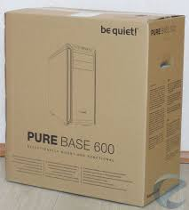 Обзор и тест MidTower корпуса <b>be quiet</b>! <b>Pure</b> Base 600 Black ...