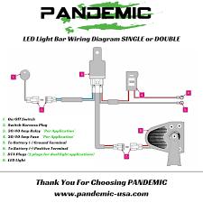wiring diagram for led light bar to high beam wiring 2 mini led flood light reverse light rock light motorcyle use on wiring diagram for led