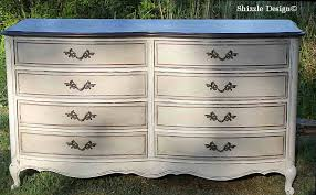 paint furniture ideas colors. French Provencial Dresser Painted Taupe, White, Chalk, Clay Paints Shizzle Design Furniture Ideas Paint Colors