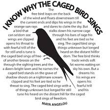 i know why the caged bird sings literary goddess a angelou  i know why the caged bird sings