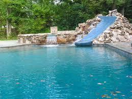 inground pools with waterfalls and slides. Pool Designs With Waterfalls And Slides. Cool Slide Rock Formation Waterfall. Inground Pools Slides