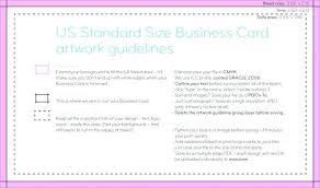 Business Card Template Download How To Design A Standard Size