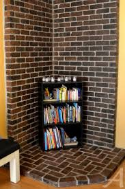 how to stain brick updating a brick fireplace ask anna