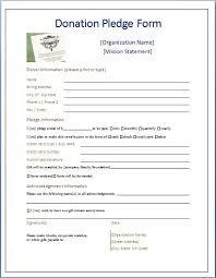 Donation Form Example Under Fontanacountryinn Com