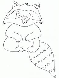 Small Picture Baby Raccoon Coloring Pages Coloring Pages