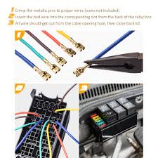 automotive fuse box back wiring diagrams best automotive car fuse relay holder 12 slot relay box 6 relays 6 atc 91 lincoln town car fuse box diagram automotive fuse box back