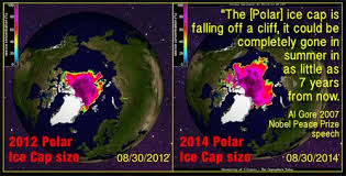 antarctic ice sheet growing the arctic melt myth seven years ago al gore predicted the arctic