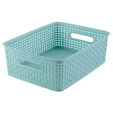 office storage baskets. See Jane Work Decorative Storage Medium Office Baskets