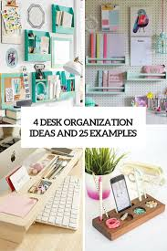 4 desk organization ideas and 25 examples cover