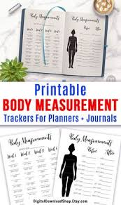 Printable Body Measurement Chart Weight Loss List Of Body Measurement Chart Printable Image Results Pikosy