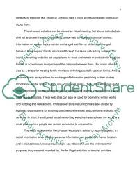Social Networking Essay Social Networking Essay Example Topics And Well Written Essays