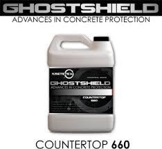 concrete sealer ghostshield concrete countertop sealer 660