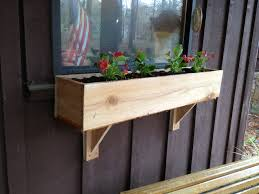 Diy Window Boxes Diy Window Flower Box And Supports For Under 5 And Under 2 Hours