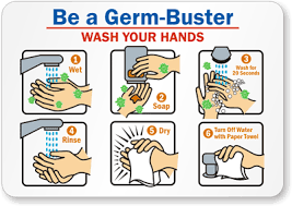 Image result for wash hands clipart