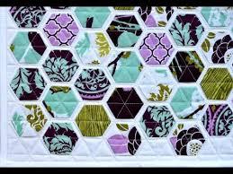 Hexagon Quilt Patterns - YouTube & Hexagon Quilt Patterns Adamdwight.com