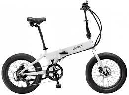 Biria 500w thumb throttle fat tire folding electric bike really