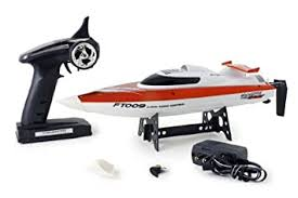 Buy FT009 4-Channel <b>2.4G High Speed</b> Racing <b>RC Boat</b> - Orange ...