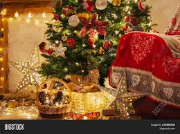 Christmas Living Room Image Photo Free Trial Bigstock