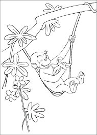 curious george coloring book curious coloring page erflies