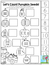 Kindergarten Worksheets Cut And Paste Printables - Clipart Library •