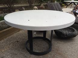 full size of round concrete look dining table 60 round concrete dining table canvas seabrooke round