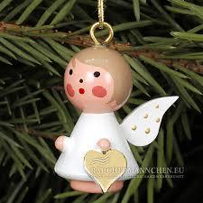 Herz Christbaumschmuck Mini Engel Weihnachtsbaumschmuck