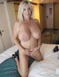 Milf big tits blonde