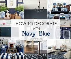 decorate with navy blue a full guide