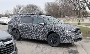 2018 subaru minivan. wonderful 2018 view 27 photos 2018 subaru ascent spy photo inside subaru minivan car and driver