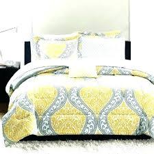 yellow duvet cover mustard sets gray and feminine damask grey bedding fl pastel set single