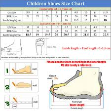 5 Year Old Boy Shoe Size Chart Barefoot Kids Shoes Manufacturers Barefoot Shoes For Kids
