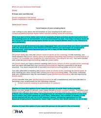 Free 5 Employment Termination Letters In Pdf Doc