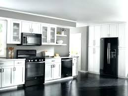 kitchens with white cabinets and black appliances. White Cabinets Black Appliances Kitchen With Stainless Kitchens And E