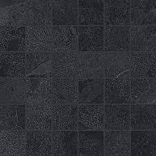 <b>Мозаика Italon Materia</b> Titanio Mosaico 30x30 610110000253 черная