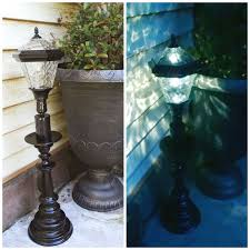 how to make solar lighting from regular light fixtures several outdoor solar light projects here